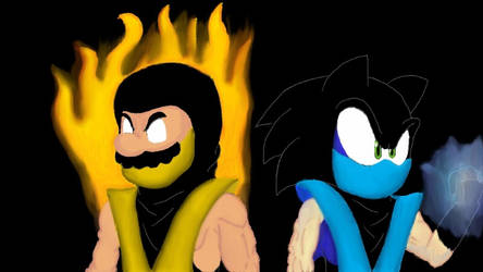 Scorpio and Sub-Sonic by SuperMLbros