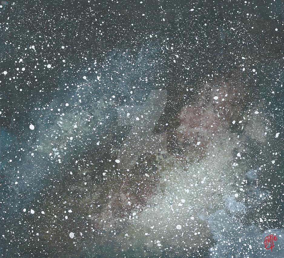 Cosmic Dust by AloneBoy