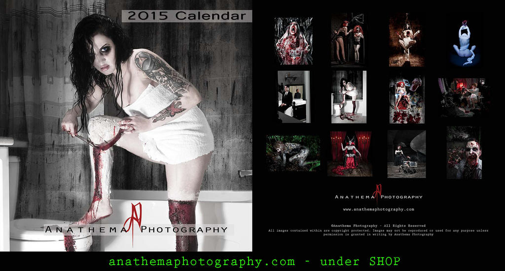2015 Anathema Photography Calendar by Anathema-Photography