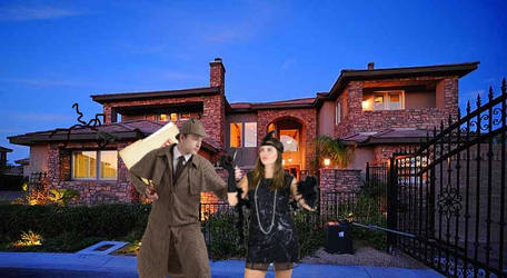 The Detective Makes a House Call