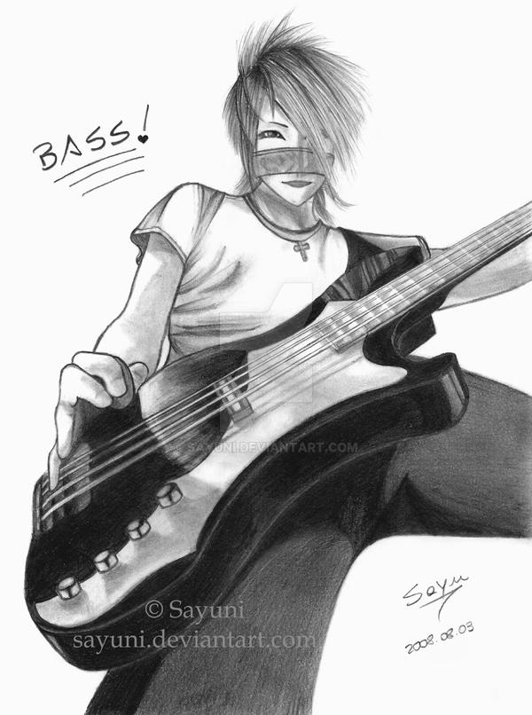 Bassist by Sayuni
