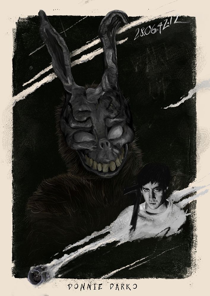 Donnie Darko - Digital Painting by nadineballantyne