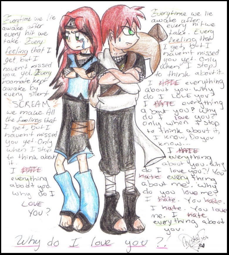 I Hate Everything About You By Gaara Fangirls On Deviantart