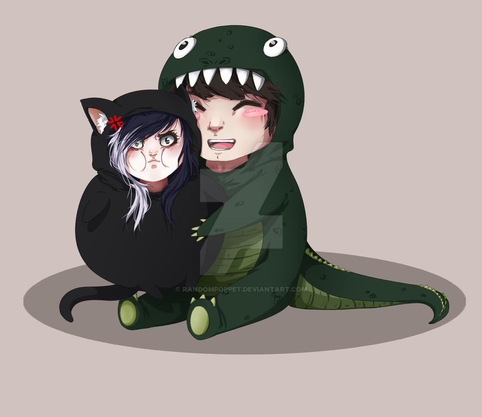 Alligator Attack by randompoppet