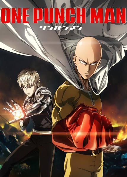 One Punch Man TV Anime Key Visual by NoLimit5