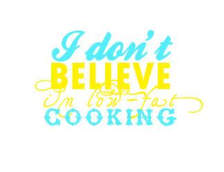 A Chef's Mantra