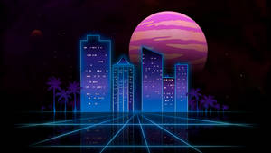 Outrun city