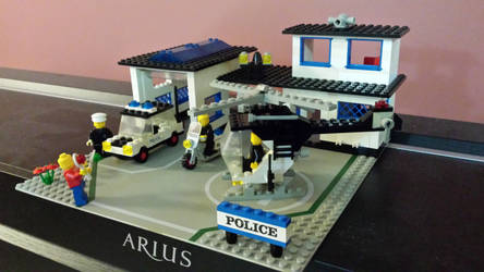 Lego Land Police Station #3 by Faxwell23