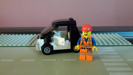 The Lego Movie Emmet #1 by Faxwell23