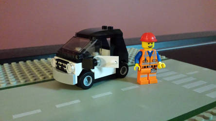 The Lego Movie Emmet #2 by Faxwell23