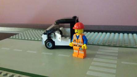 The Lego Movie Emmet #3 by Faxwell23