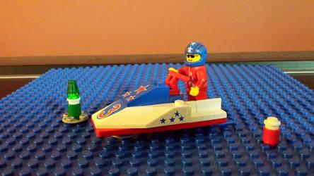 Lego System Jet Ski #1 by Faxwell23
