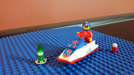 Lego System Jet Ski #2 by Faxwell23