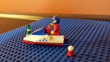 Lego System Jet Ski #3 by Faxwell23