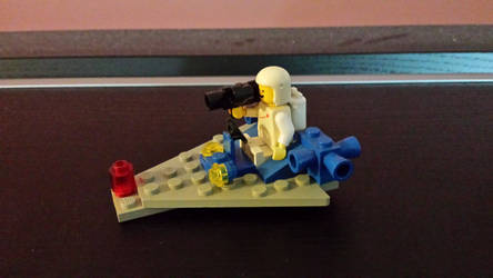 Lego Land Nineteen-Eighty-Something Space Guy #1 by Faxwell23