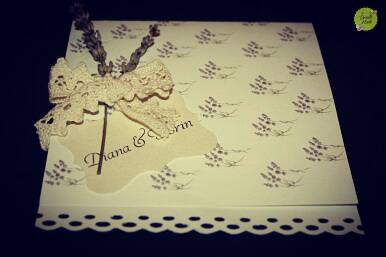 wedding invitation by briellemade