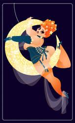 Burlesque Moon rising by MissMatzenbatzen