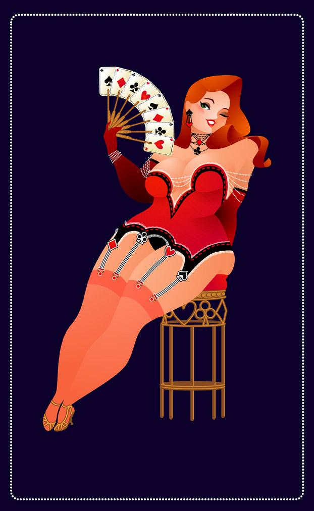 Burlesque Poker by MissMatzenbatzen