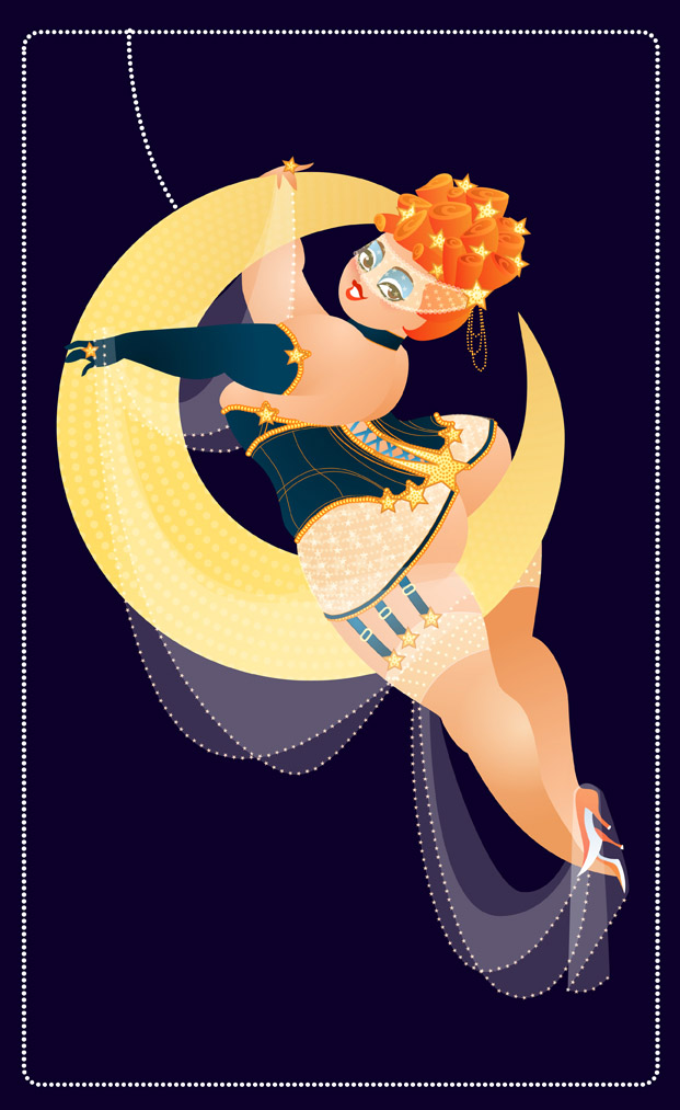 Burlesque Moon again by MissMatzenbatzen