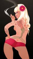 sexy back by MissMatzenbatzen