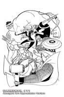 Cover: Daredevil Vol 3 11 Avengers by MissMatzenbatzen