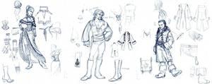 Wellenlaeufer Characters