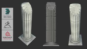 Youtube TumbNail Roman Column Broken