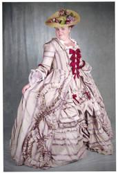 Georgian Robe a la Francaise