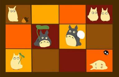 Totoro Baby Blanket Design