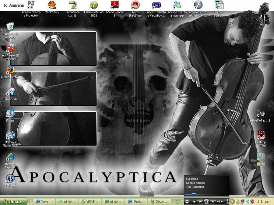 my desktop 2 by Amivane