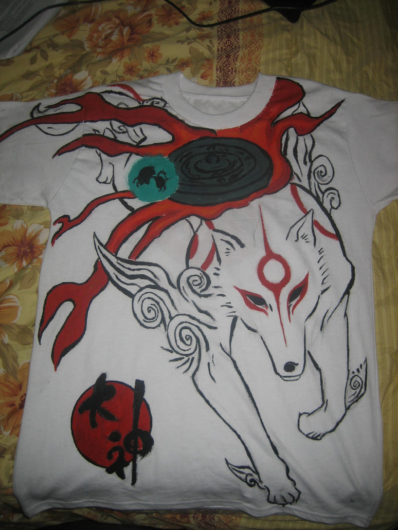 Okami project front-complete- by Amivane