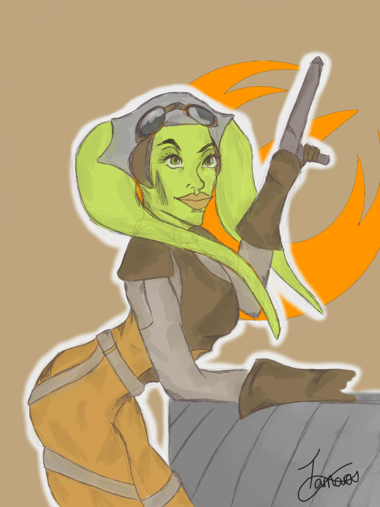 Hera Syndulla | Rebel Pilot. by PurpleWillowTrees