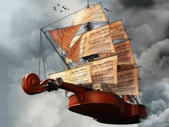 Music Takes Flight by Conlaodh