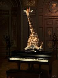 Classical Giraffe by Conlaodh
