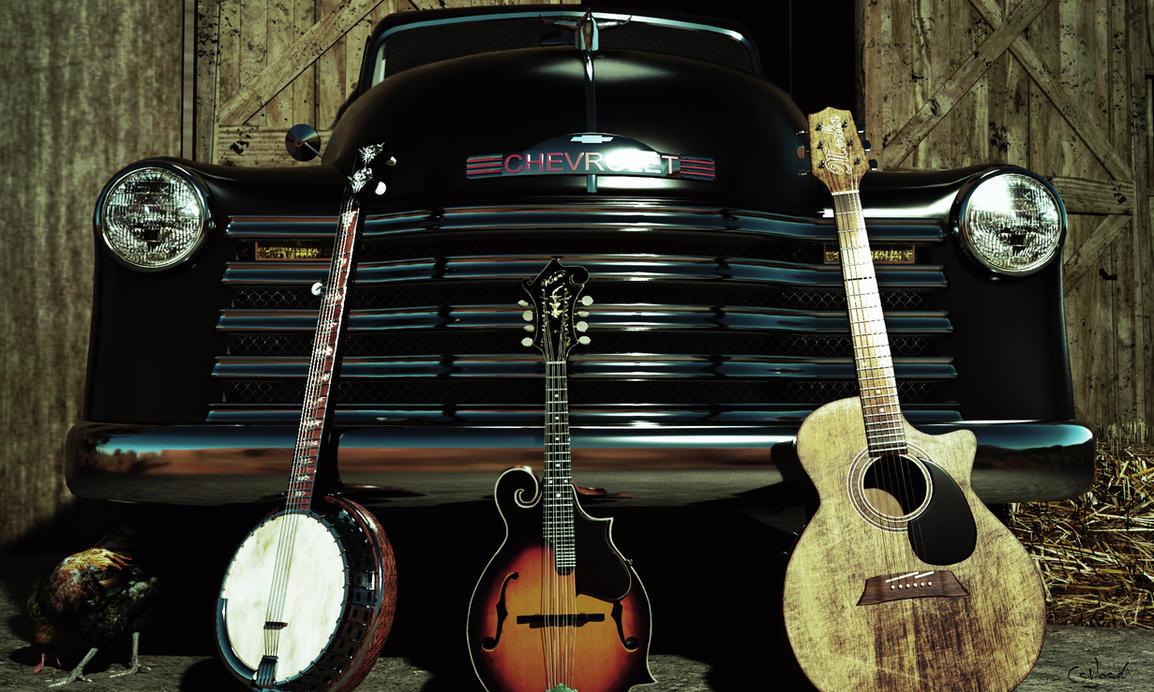 Bluegrass Trifecta by Conlaodh