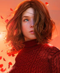 Simply Red by Conlaodh