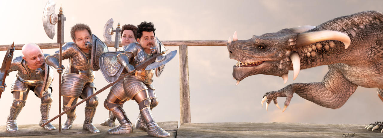 The Dragonslayers by Conlaodh