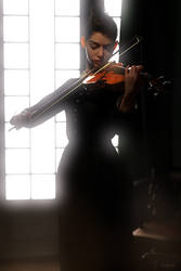 Violin Practise by Conlaodh