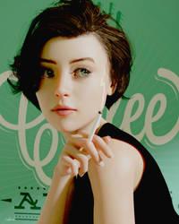 Cafe Portrait by Conlaodh