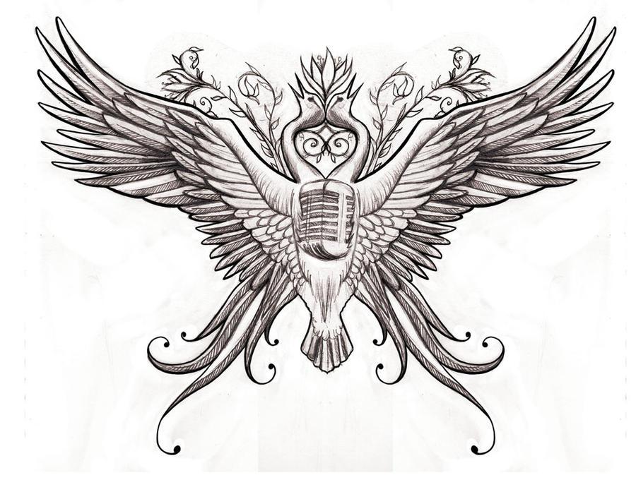 Chest Piece Tattoo Redone By LittleSarah88 On DeviantArt