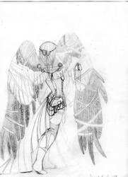 Angel Turned Back
