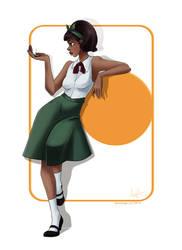 Amahle, the beautiful by SoLaNgE-scf