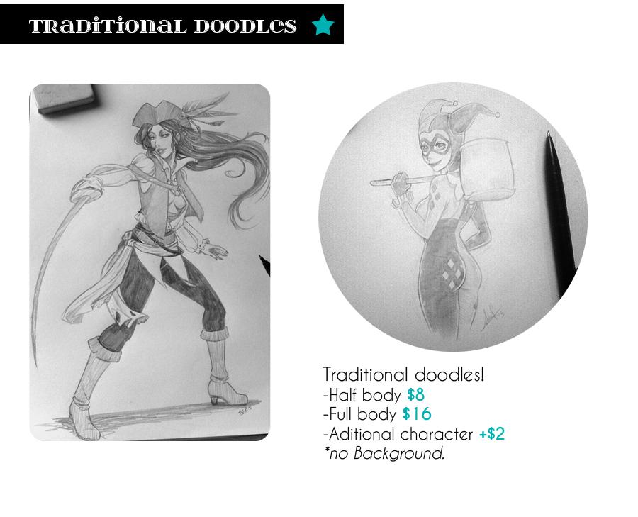 Traditional doodles by SoLaNgE-scf