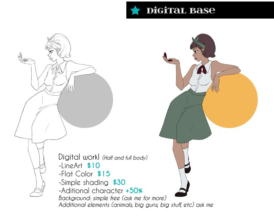 Digital base by SoLaNgE-scf