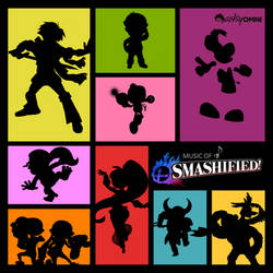 Music of Smashified - Album Cover by Herobria