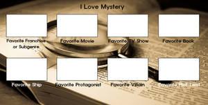 I Love Mystery Meme Template