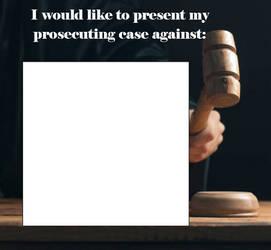 My Prosecution Template