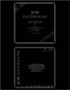 JOE SATRIANI FLYER A