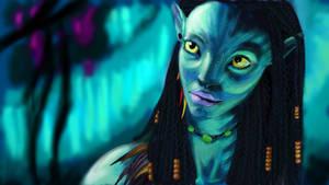 Neytiri Avatar by tite-pao