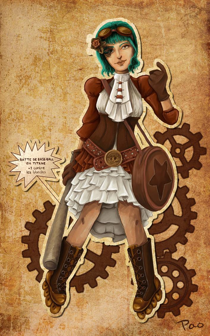 Steampunk Ramona by tite-pao
